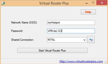 virtual router wifi hotspot