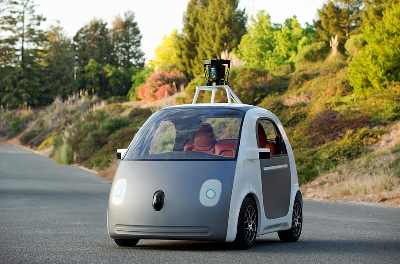 Self Driven Google Car Without Steering