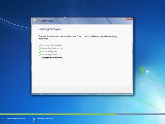 Install Windows 7 Virtual Machine.
